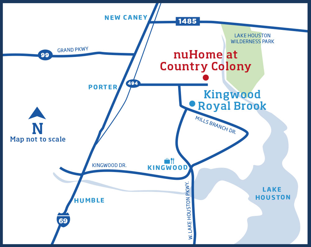 nuHome in Country Colony Map